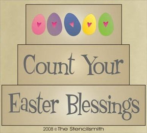 563 - Count Your Easter Blessings - block set