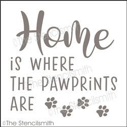5657 - home is where the paw prints are