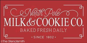 5663 - North Pole Milk & Cookie Co.