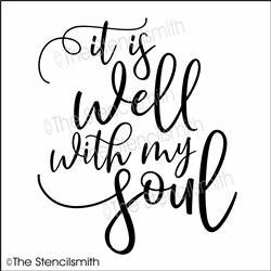 5695 - it is well with my soul