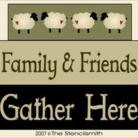 572 - Family & Friends Gather Here - BLOCKS