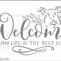 5869 - Welcome farm life