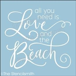 5934 - all you need is love and the beach