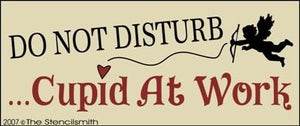 Do Not Disturb Cupid at Work