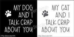 5979 - My dog / cat and I talk