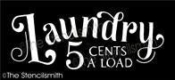 5998 - Laundry 5 cents a load