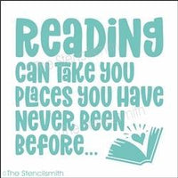 6090 - Reading can take you places