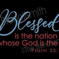 6094 - Blessed is the nation whose