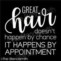 6125 - Great Hair doesn't happen by