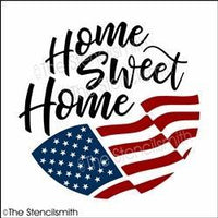 6153 - home sweet home (flag)