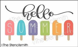 6154 - hello summer (popsicles)