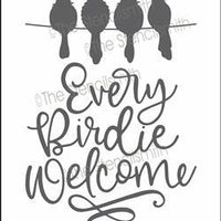 6191 - every birdie welcome