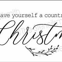 6381 - have yourself a country little christmas