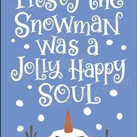 6385 - Frosty the snowman was