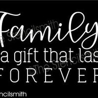 6389 - family is a gift