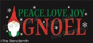 6438 - peace love joy gnoel