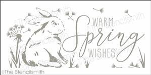 6527 - warm spring wishes