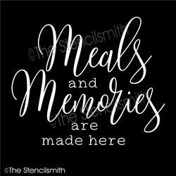 6545 - meals and memories are