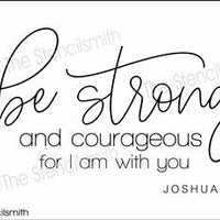 6649 - Be Strong And Courageous