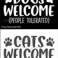 6726 - DOGS / CATS WELCOME people tolerated