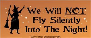 673 - We will NOT fly silently