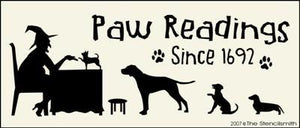 678 - Paw Readings - DOGS