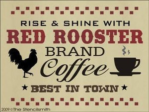 681 - Red Rooster Brand Coffee
