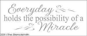 715 - Everyday possibility of Miracle