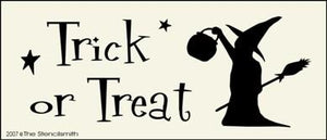 Trick or Treat - witch