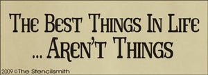 731 - The Best Things in Life Aren't Things