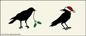 Christmas Crows
