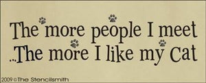 766 - The more people I meet  .... CAT