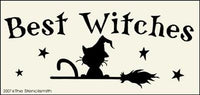 Best Witches - cat broom
