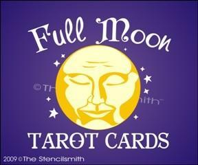 808 - Full Moon Tarot Cards
