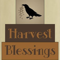 814 - Harvest Blessings - block set