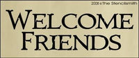 831 - Welcome Friends