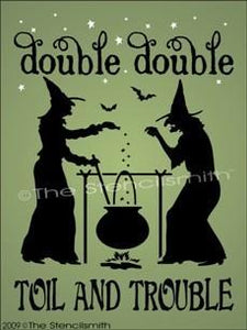 853 - Double Double Toil And Trouble