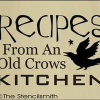 860 - RECIPES from an old crows kitchen