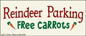 Reindeer Parking - Free Carrots