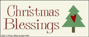 Christmas Blessings - B