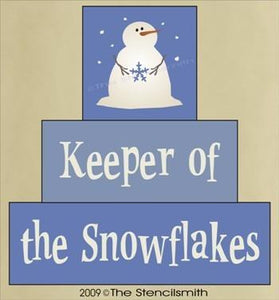 959 - Keeper of the Snowflakes - block set