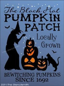 962 - Black Hat Pumpkin Patch