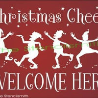 964 - Christmas Cheer Welcome Here