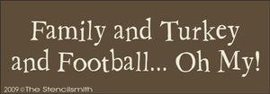 975 - Family & Turkey & Football
