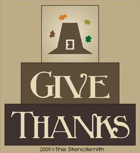 976 - Give Thanks  - block set