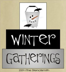 994 - Winter Gatherings - block set