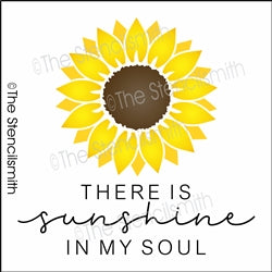 6744 - There is sunshine in my soul (sunflower)
