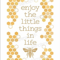 6762 - enjoy the little things in life