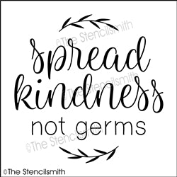 6765 - spread kindness not germs