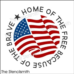 6789 - Home of the free because (flag)